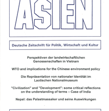 ASIEN 81 (Oktober 2001)