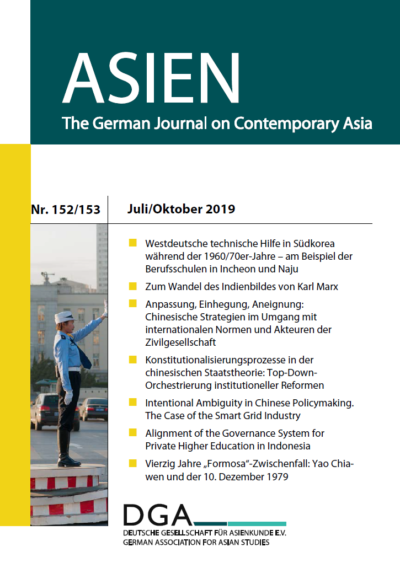 ASIEN 152/153 - Cover